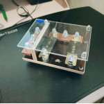 Автомобильный дистрибьютор питания для аудиосистемы на 2 выхода